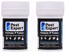 Pest Expert Cluster Fly Smoke Bombs 3.5g Twin Pack